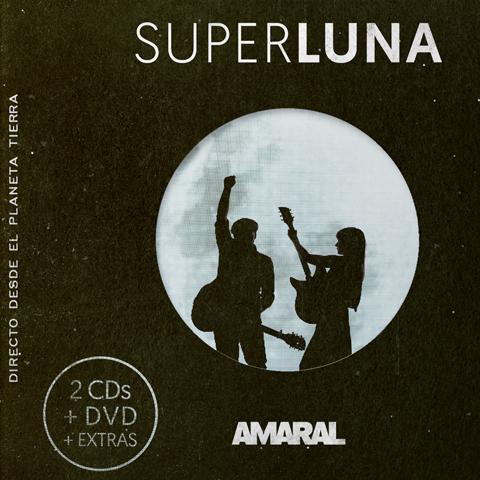 Superluna. Directo Desde El Planeta Tierra 2CD + DVD