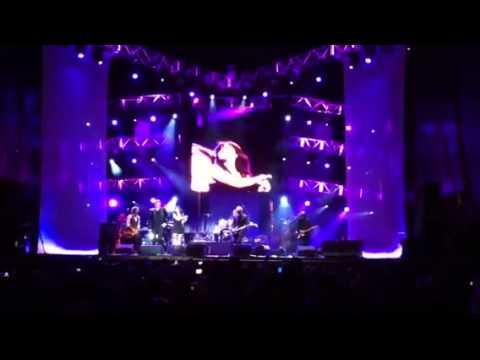 Rock & Roll Star: Eva Y Loquillo, Ayer En Zaragoza