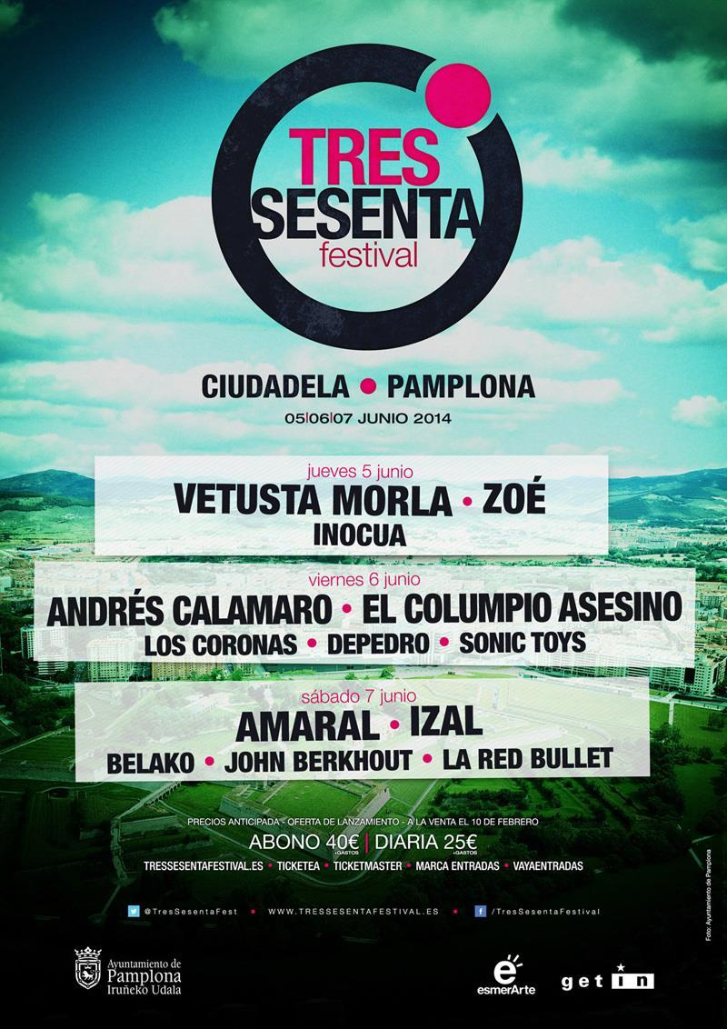07/06/2014 – Pamplona (Tres Sesenta Festival)