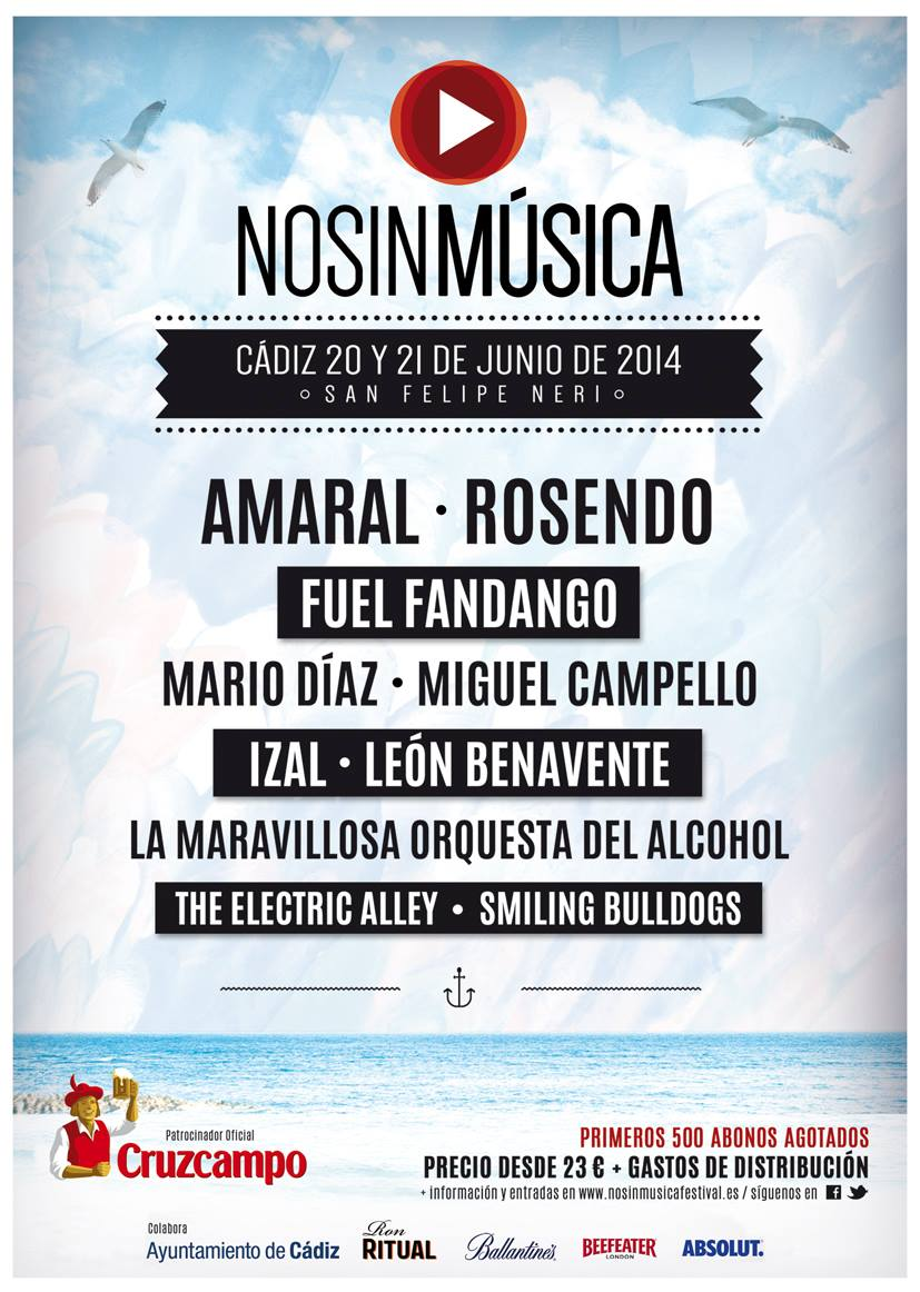 20-21/06/2014 – Cádiz (No Sin Música Festival)