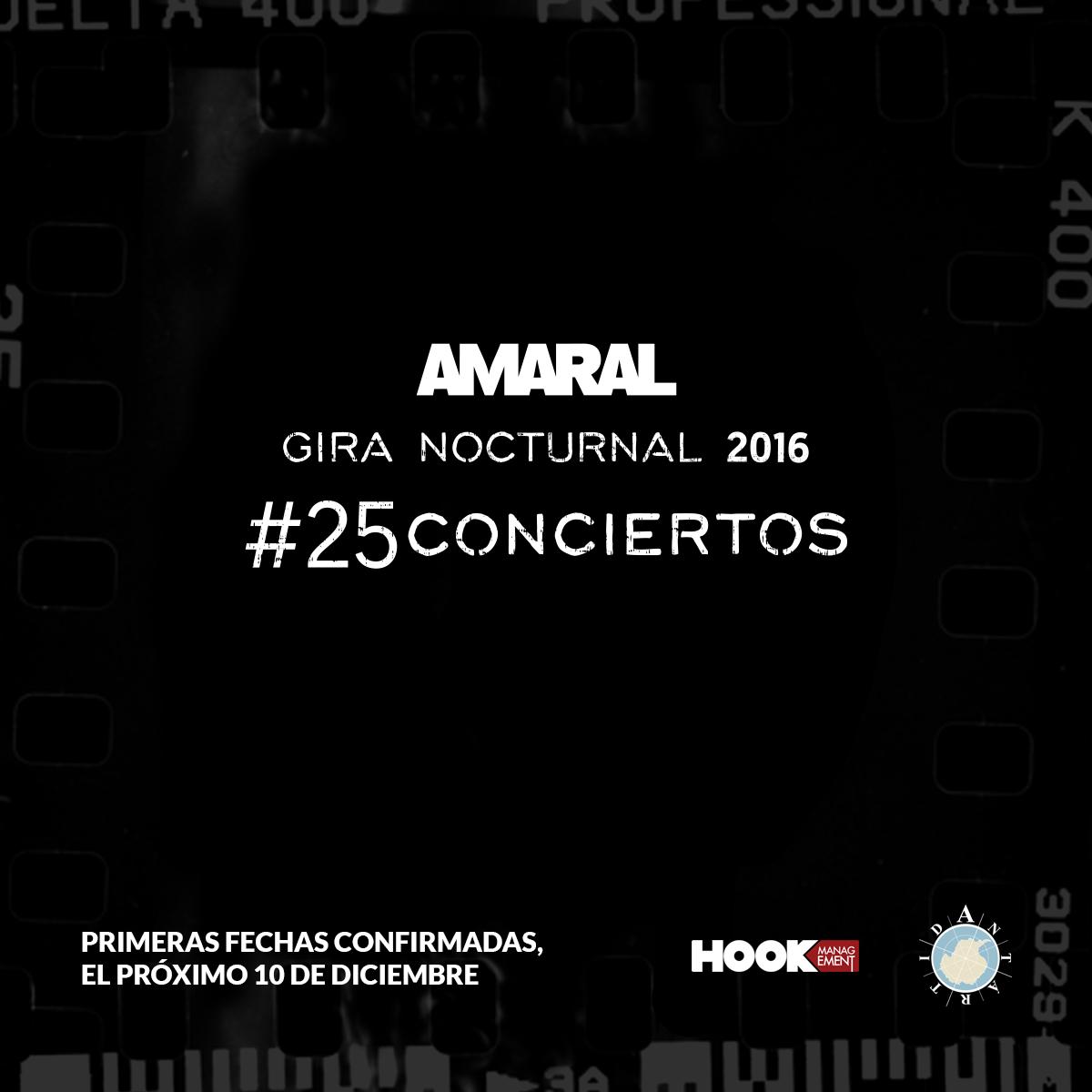 #25Conciertos – Gira Nocturnal