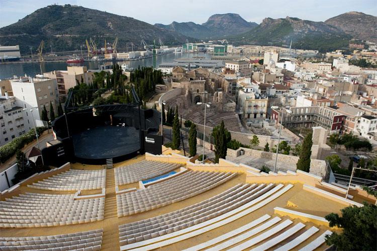 Amaral, Concierto En La Mar De Músicas En Cartagena ( Murcia )