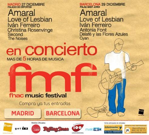 Fnac Music Festival En Madrid Y Barcelona