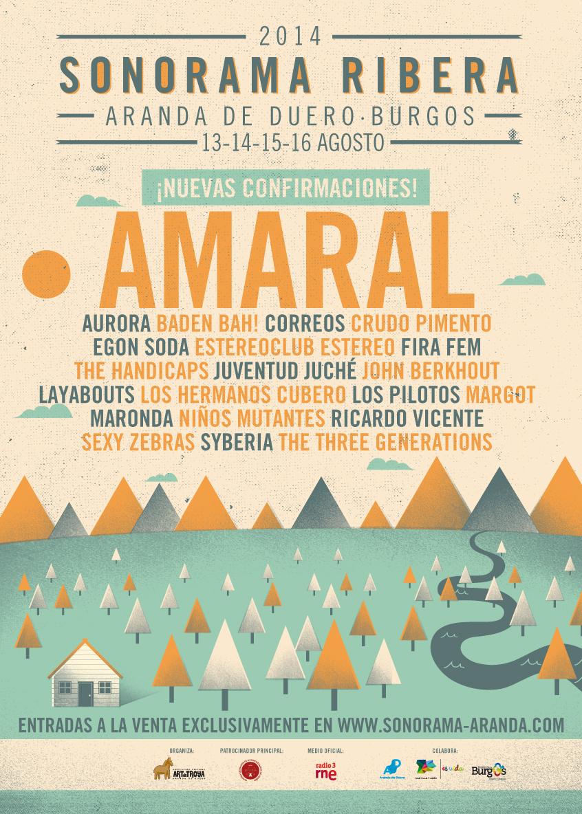Tocamos En El Sonorama 2014