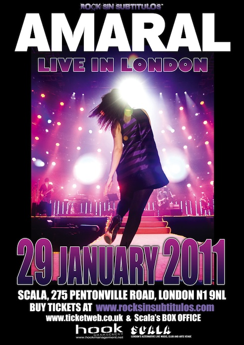 Amaral- Live In London