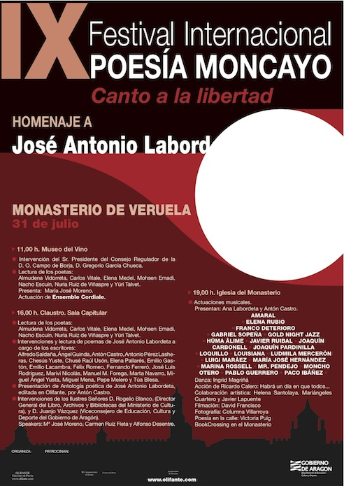 Cartel Labordeta A4 (P) 492