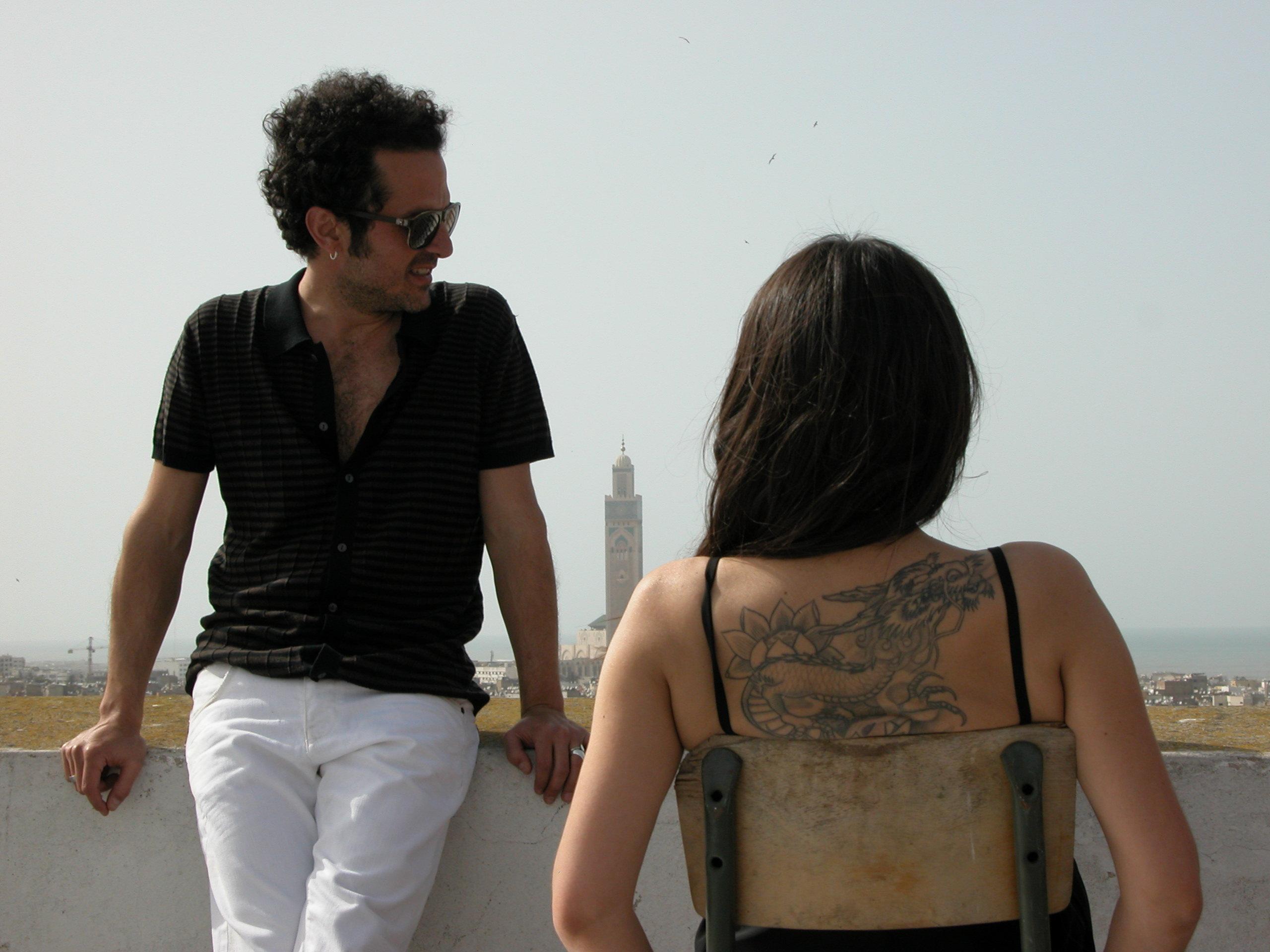 Eva Y Jaime Durante El Rodaje