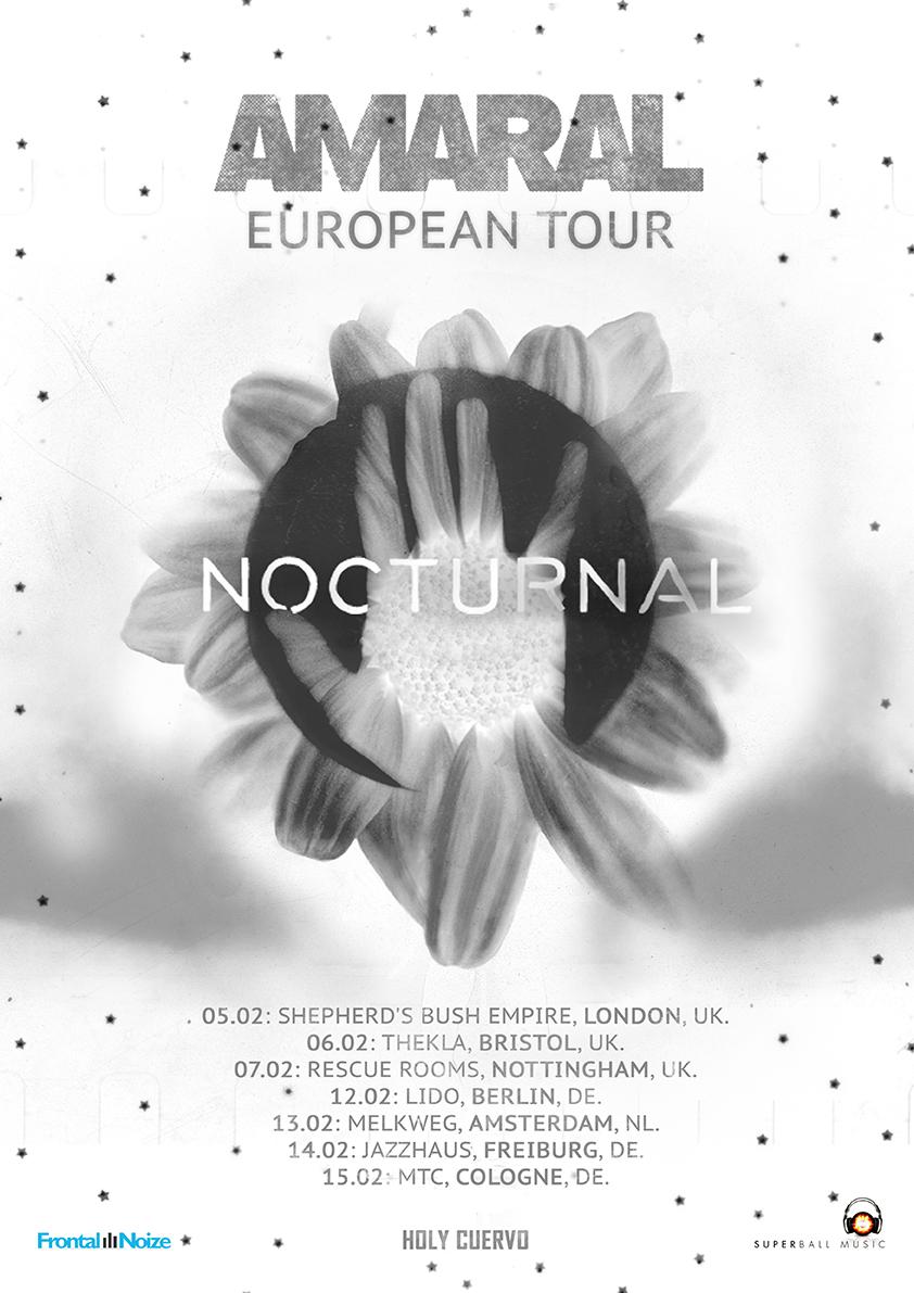 Lanzamiento De 'Nocturnal Solar Sessions' Y Gira Europea