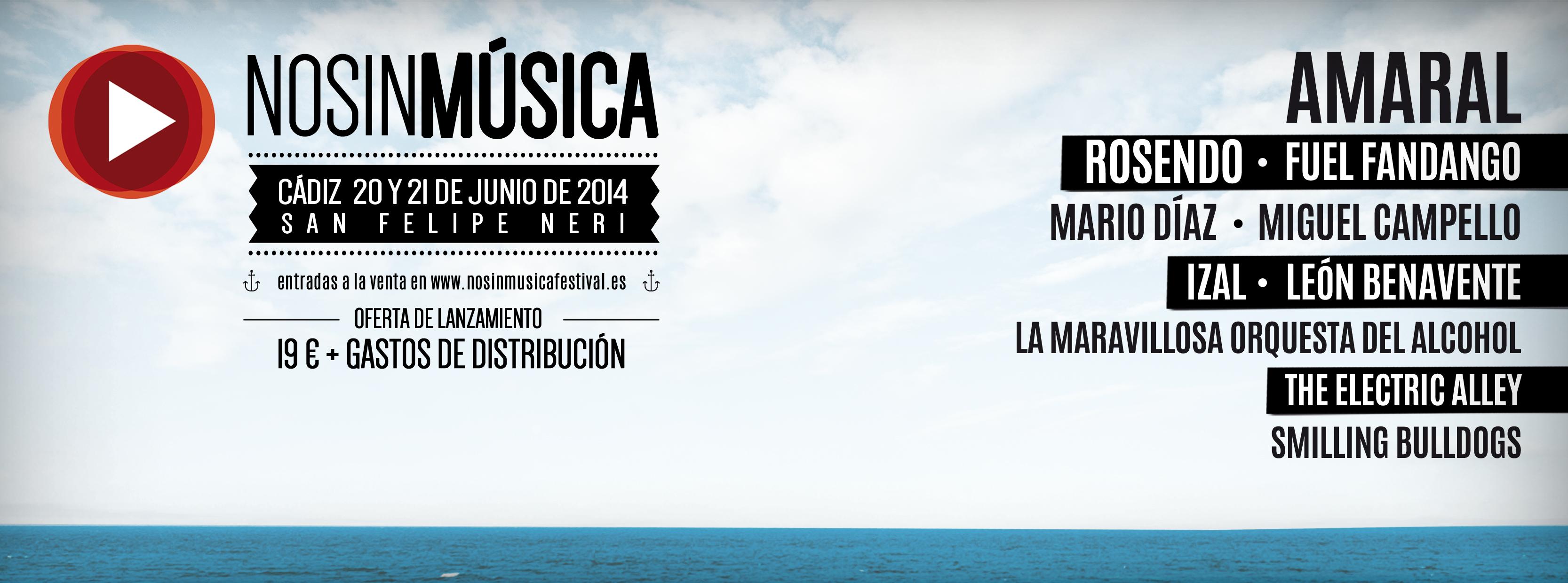 Tocamos En Cadiz En El Festival No Sin Música / Junio 2014