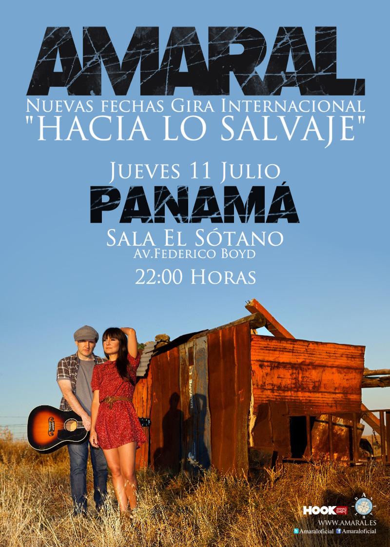 Amaral en Panamá