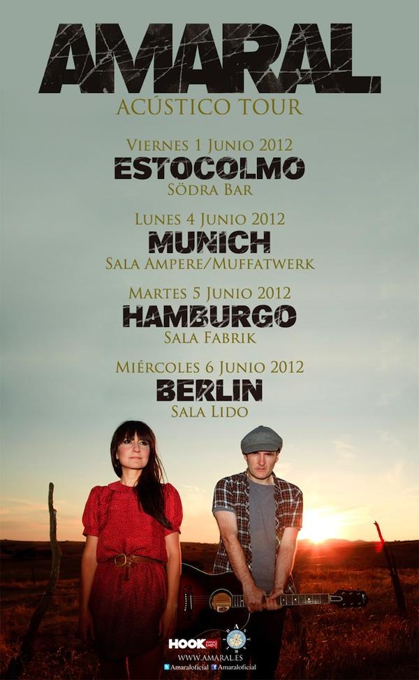 Gira Acústica En Europa En Junio