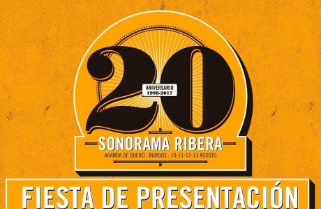 Fiesta Presentación 20 Aniversario Sonorama Ribera