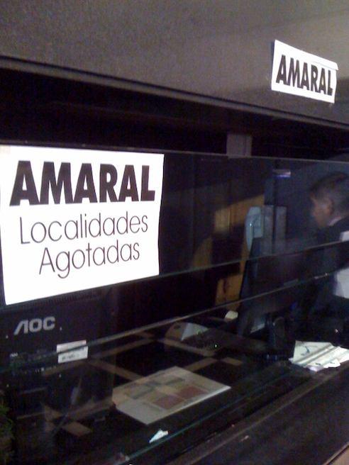 Amaral En Chile: Avalancha De Peticiones De Entradas