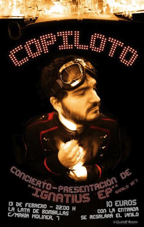 """Copiloto: 13 De Febrero Concierto + EP """"Ignatius"""" En Vinilo"""