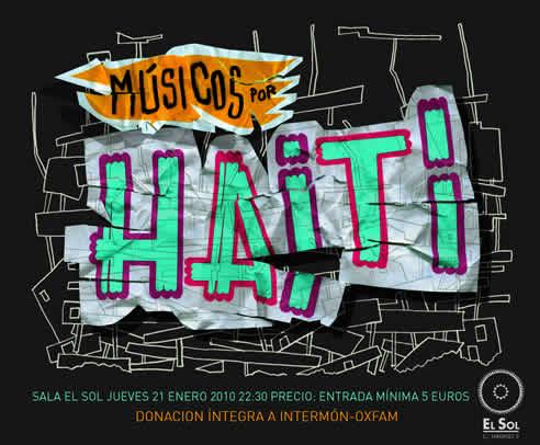 """Cártel Del Concierto """"Músicos Por Haití"""""""