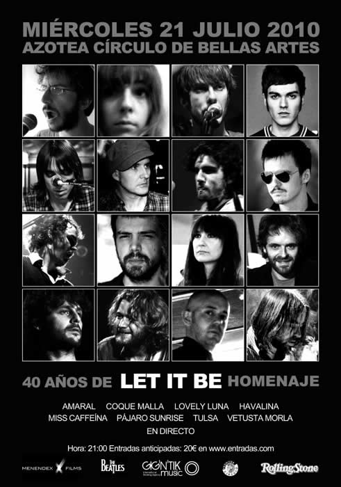 Homenaje A Let It Be: Entradas Agotadas
