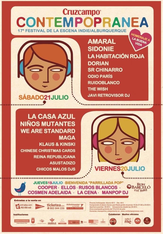 Cartel Del Contempopranea 2012
