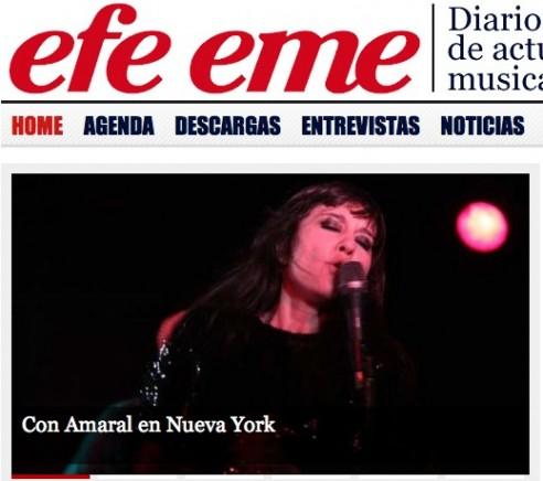 Efe Eme Entrevista A Juan Aguirre En Nueva York
