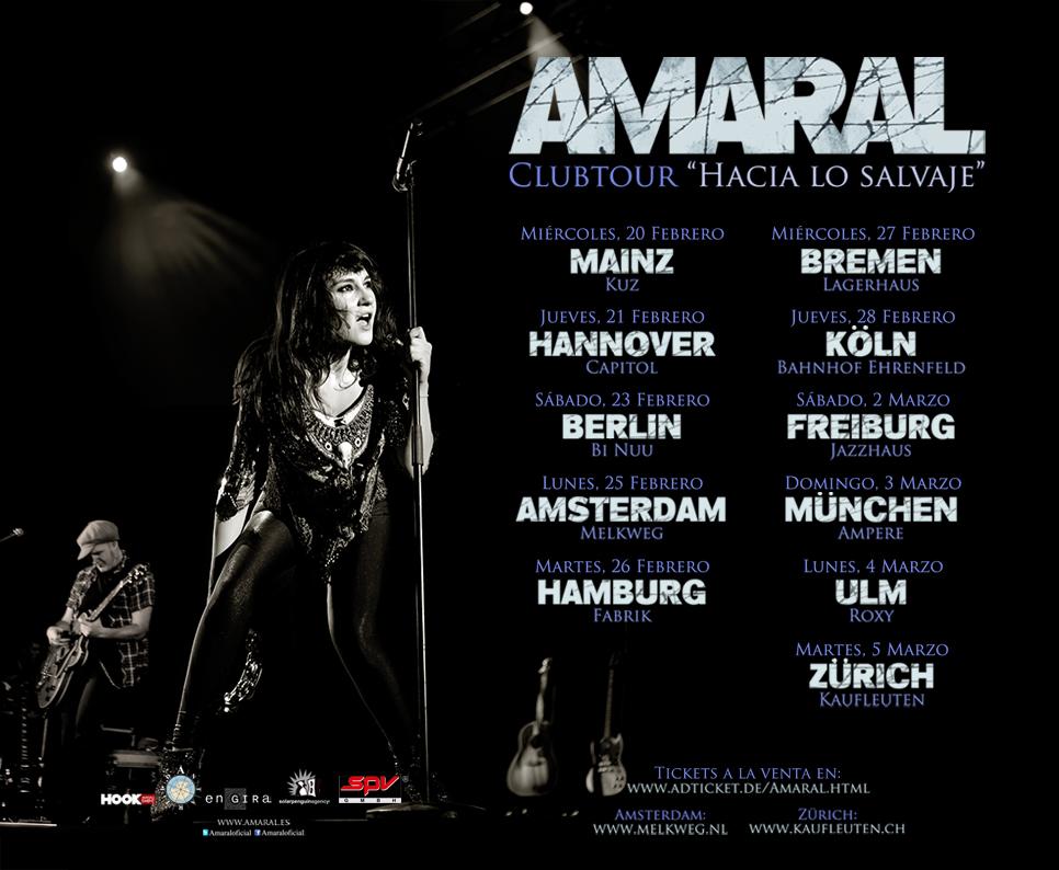 Gira Europea Feb/Mar/2013