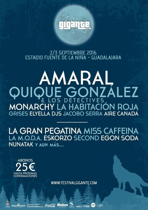 Nueva Fecha De Concierto: Festival Gigante En Guadalajara