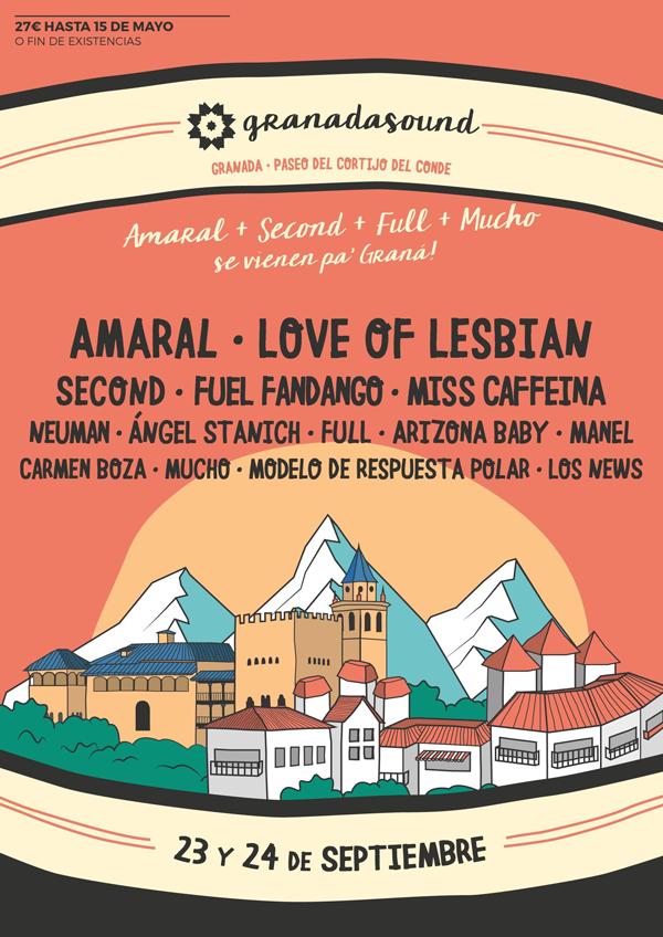 Estaremos En El Granada Sound Con #NocturnalTour25
