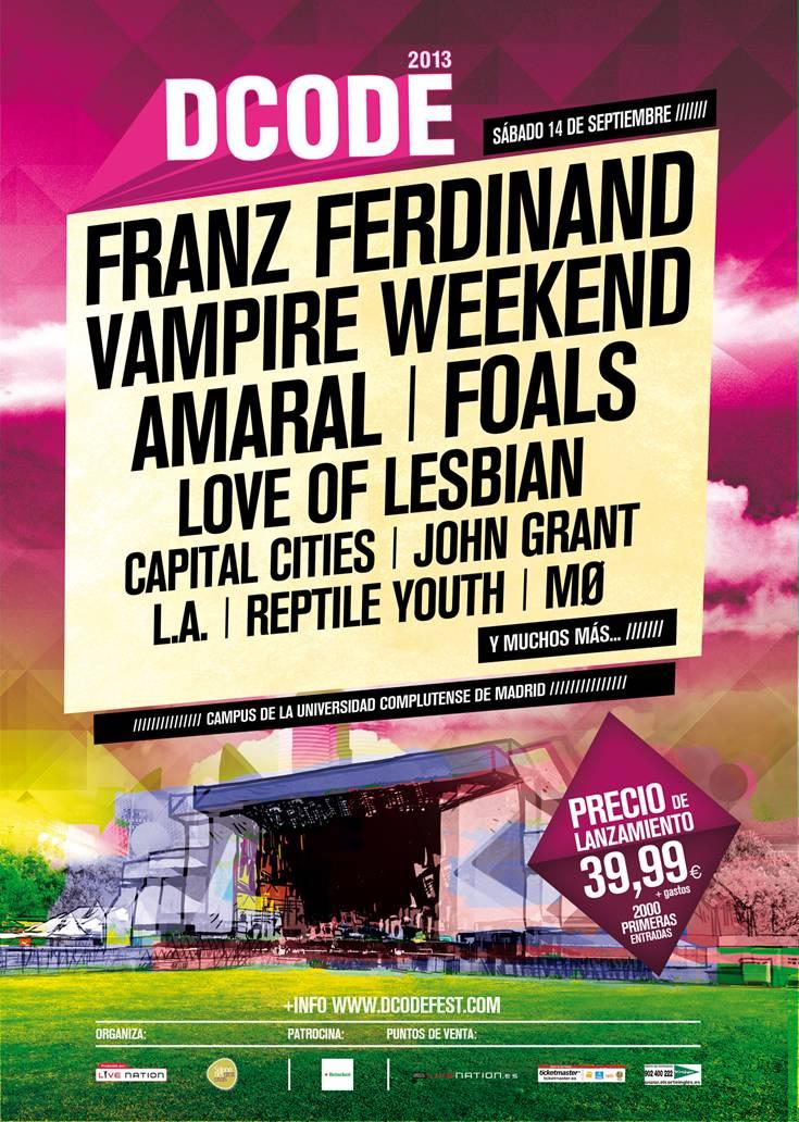Amaral en DCODE Festival