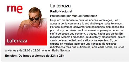 Eva Y Juan En La Terraza De Radio Nacional